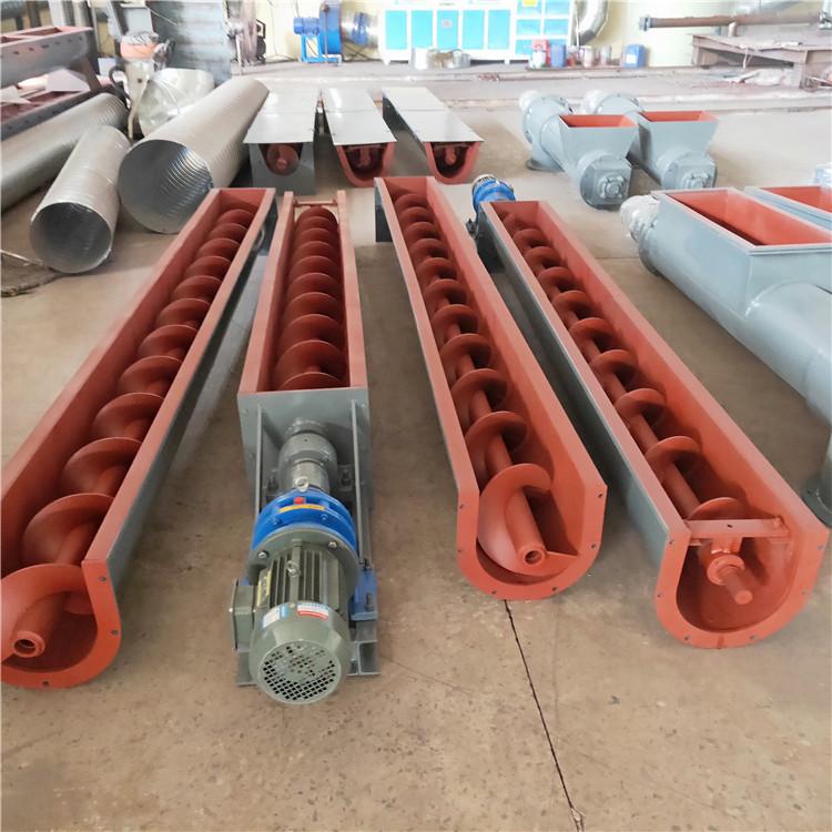 长沙垂直式螺旋输送机报价 绞龙输送机代理 能实现密封输送