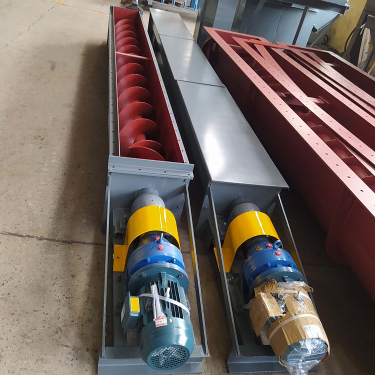 太原水平螺旋输送机厂家 绞龙输送机品牌 尺寸紧凑